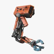 机器人手 3d model