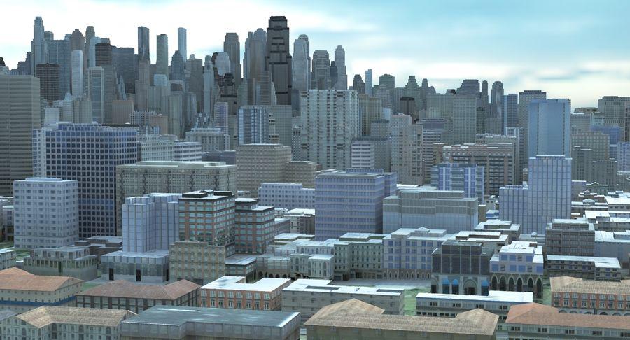 Büyük Şehir 47 royalty-free 3d model - Preview no. 4