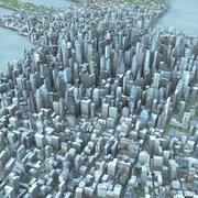 Duże miasto 47 3d model