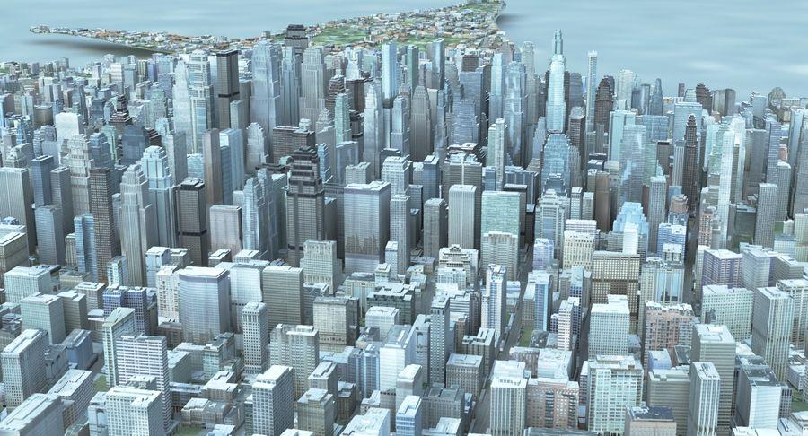 Büyük Şehir 47 royalty-free 3d model - Preview no. 2