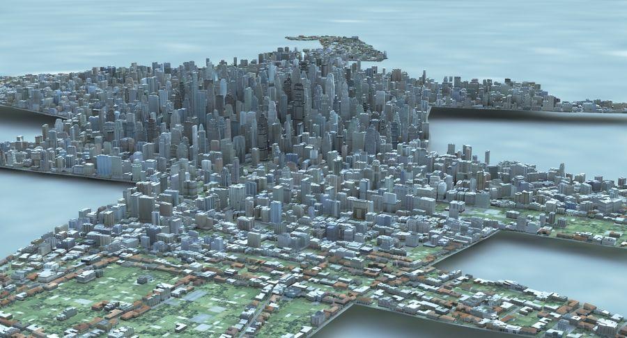 Büyük Şehir 47 royalty-free 3d model - Preview no. 7