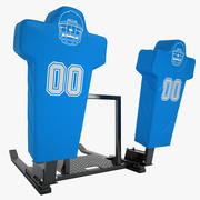 Football Training Dummy 04 3d model