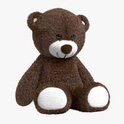 Teddy Bear Brown 3d model