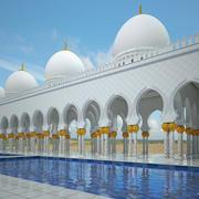 Arabic hallway 3d model