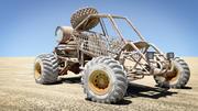 砂漠のバギー 3d model