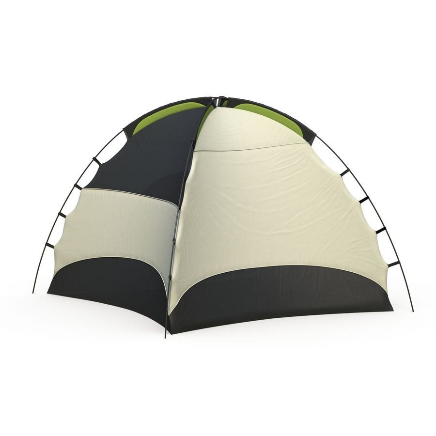 Camping Tent royalty-free 3d model - Preview no. 8