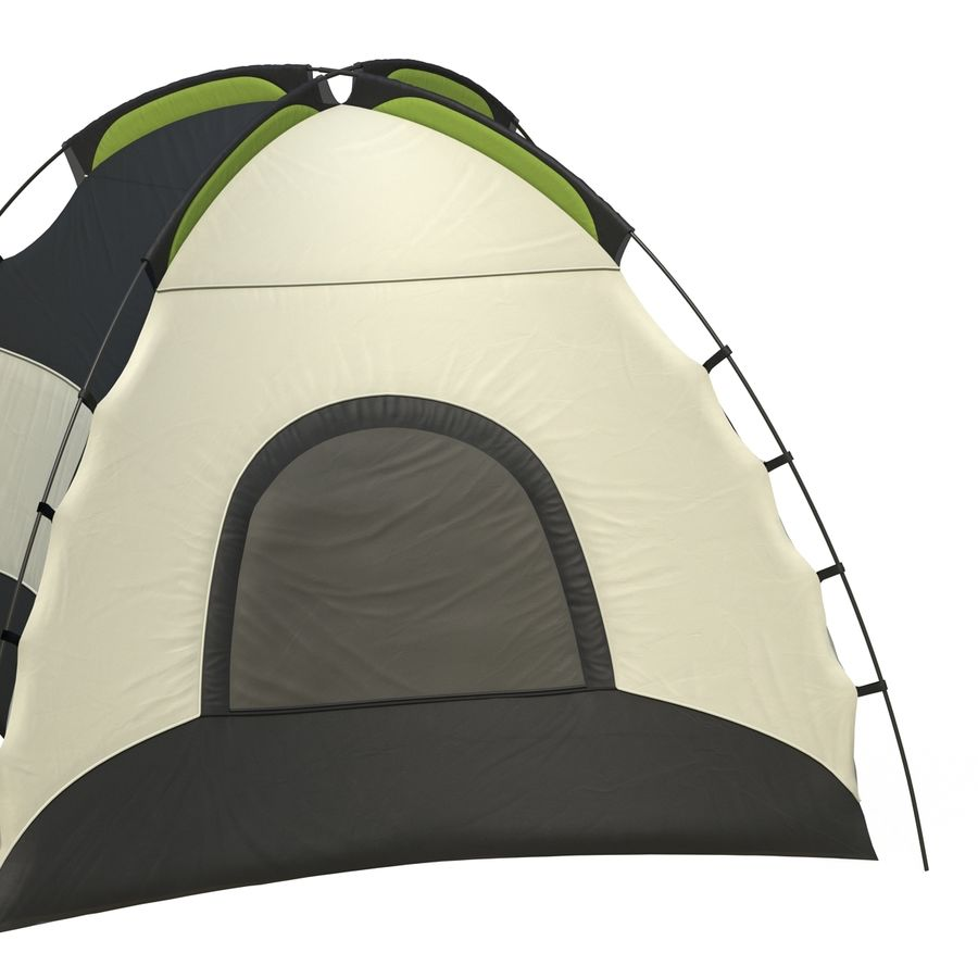 Camping Tent royalty-free 3d model - Preview no. 13