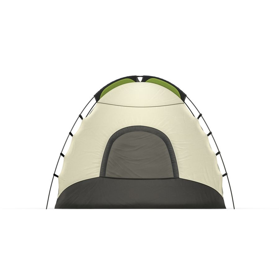Camping Tent royalty-free 3d model - Preview no. 3