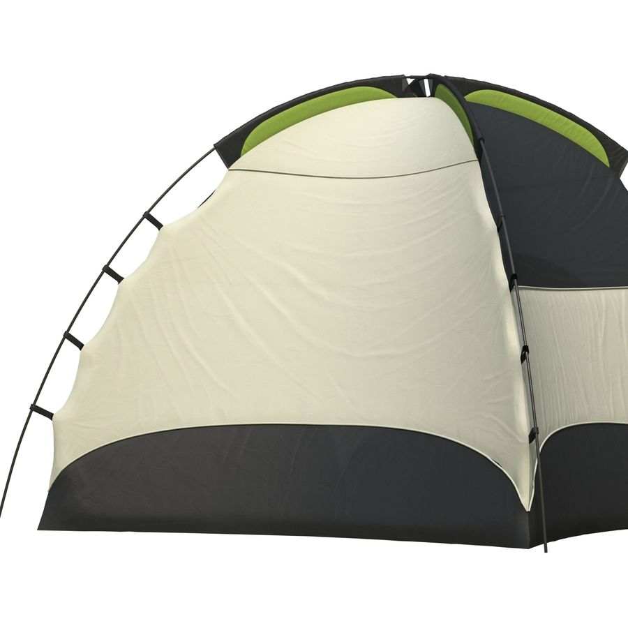 Camping Tent royalty-free 3d model - Preview no. 11