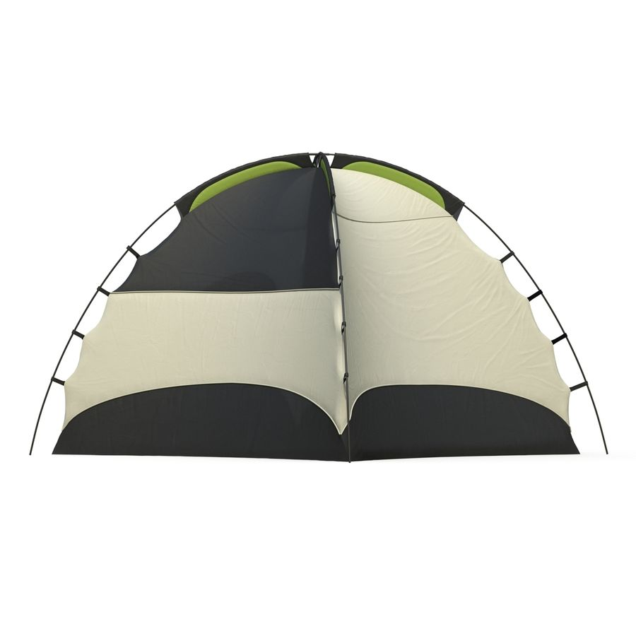 Camping Tent royalty-free 3d model - Preview no. 9