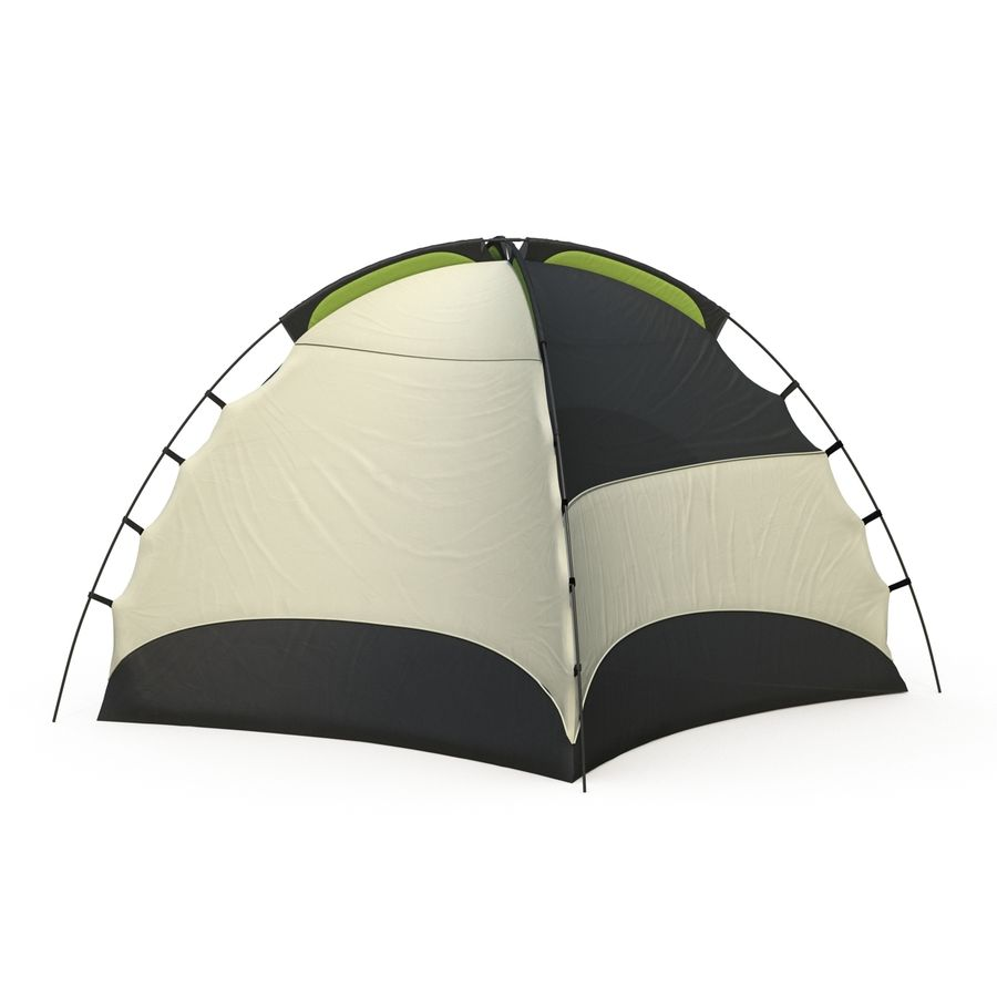 Camping Tent royalty-free 3d model - Preview no. 7