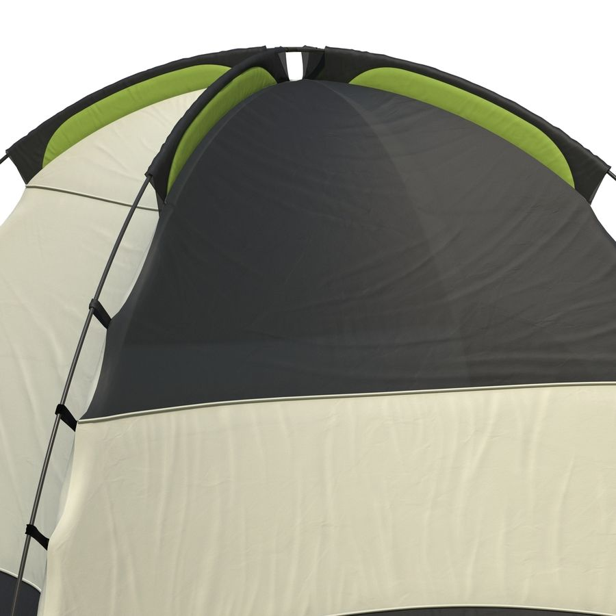 Camping Tent royalty-free 3d model - Preview no. 15