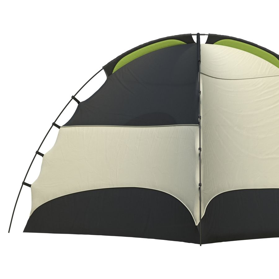 Camping Tent royalty-free 3d model - Preview no. 12