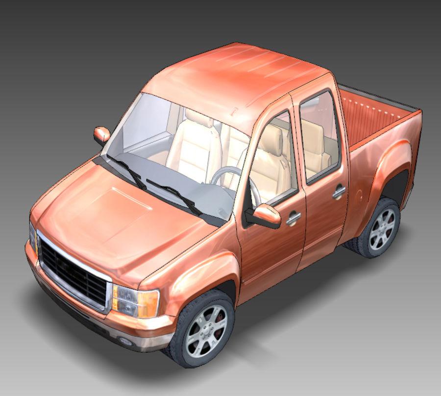 Camionnette De Dessin Animé Modèle 3d 49 Obj Max Ma