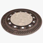 맨홀 3d model