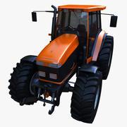 Трактор 3d model