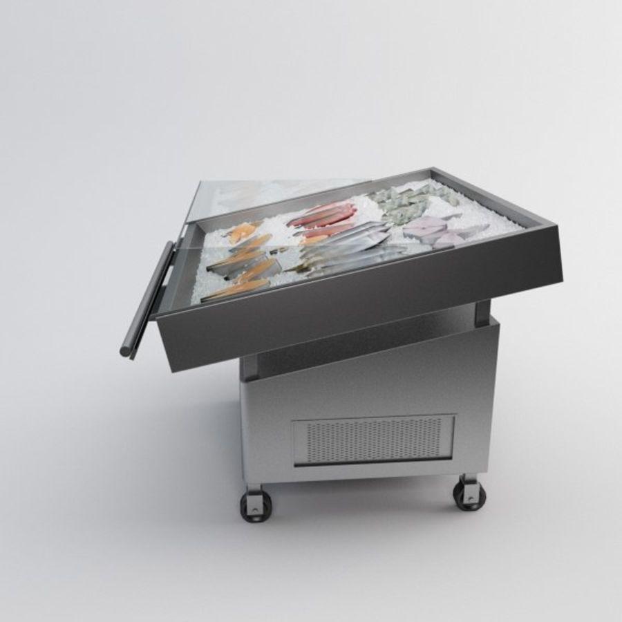 Koelkasttafel voor vissen royalty-free 3d model - Preview no. 7