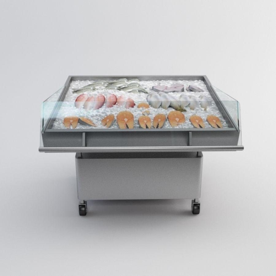 Koelkasttafel voor vissen royalty-free 3d model - Preview no. 2