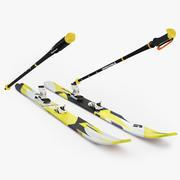 Ski Black Diamond 3d model