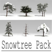 snowtree Pack 3d model