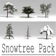 Pack Snowtree 3d model