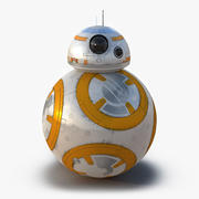 Star Wars BB 8 3d model