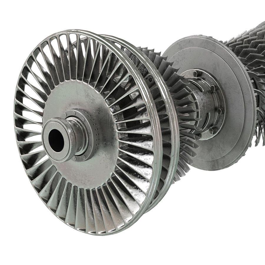 Turbina 3 royalty-free 3d model - Preview no. 13