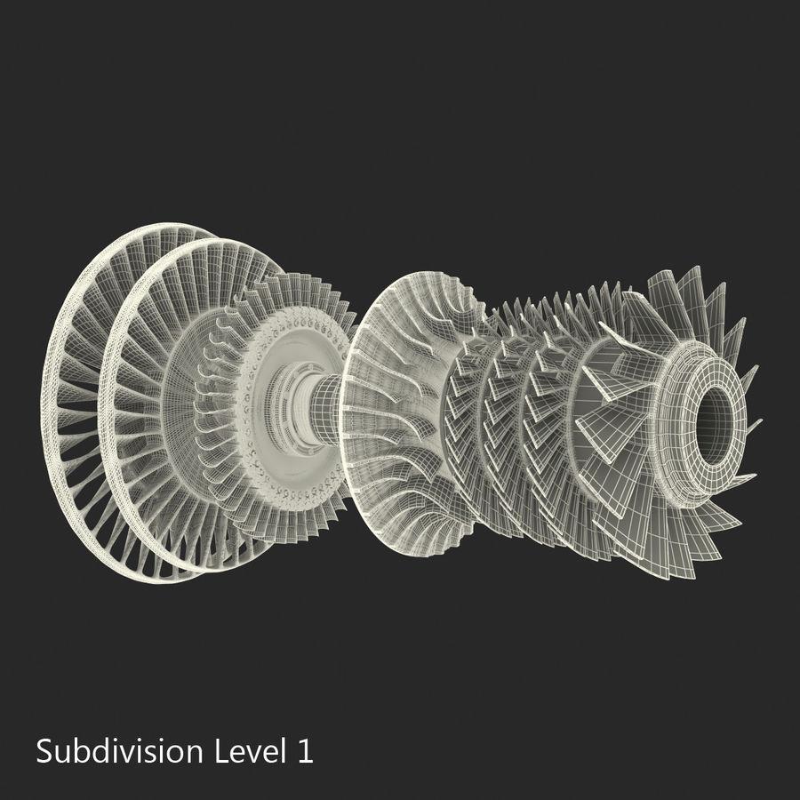 Turbina 3 royalty-free 3d model - Preview no. 20