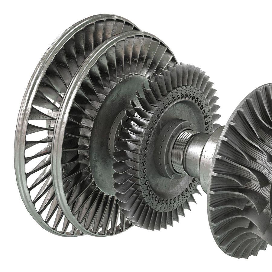 Turbina 3 royalty-free 3d model - Preview no. 14