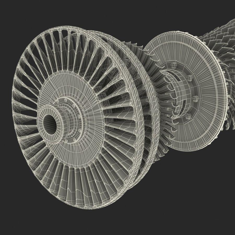Turbina 3 royalty-free 3d model - Preview no. 29