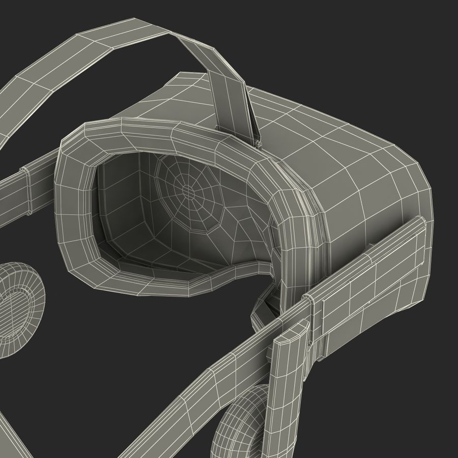 Oculus Rift royalty-free 3d model - Preview no. 29