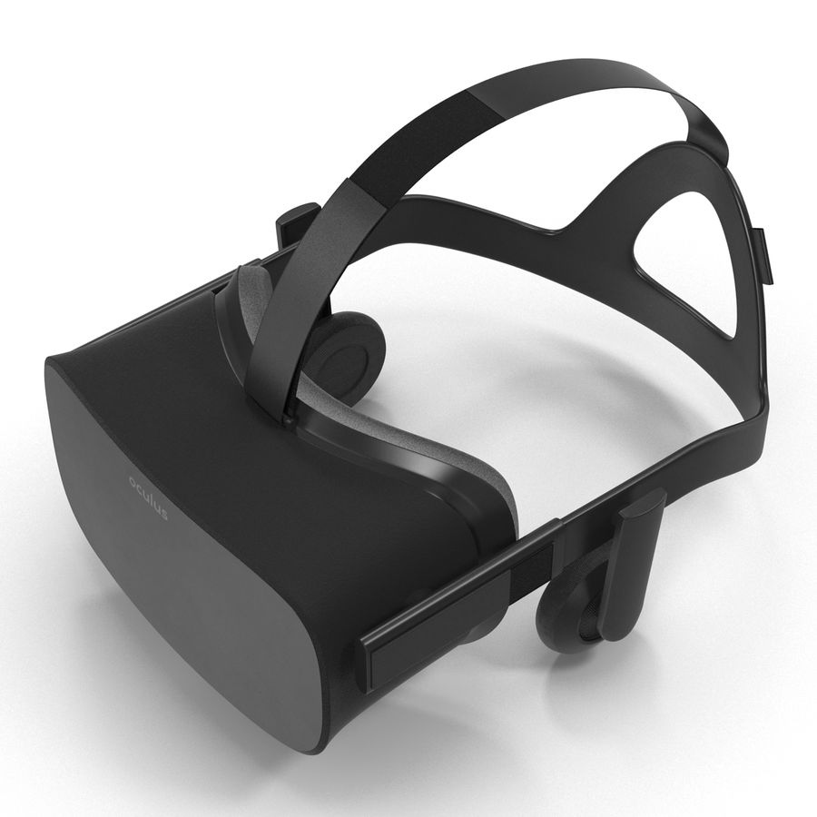 Oculus Rift royalty-free 3d model - Preview no. 5