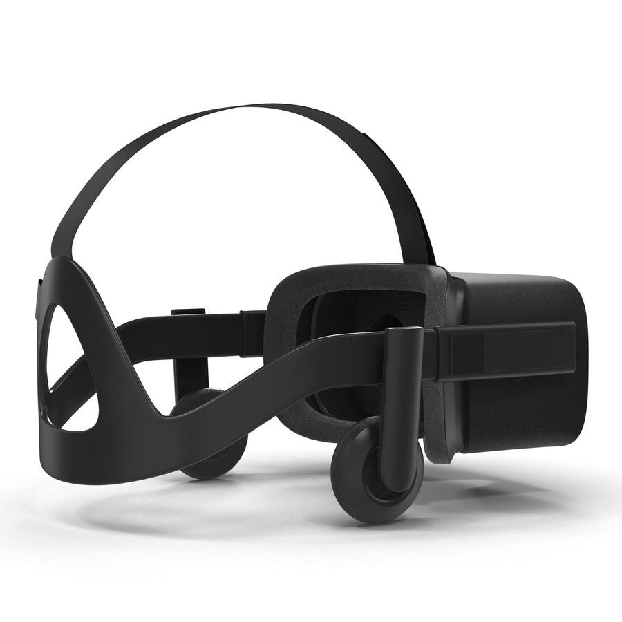Oculus Rift royalty-free 3d model - Preview no. 6