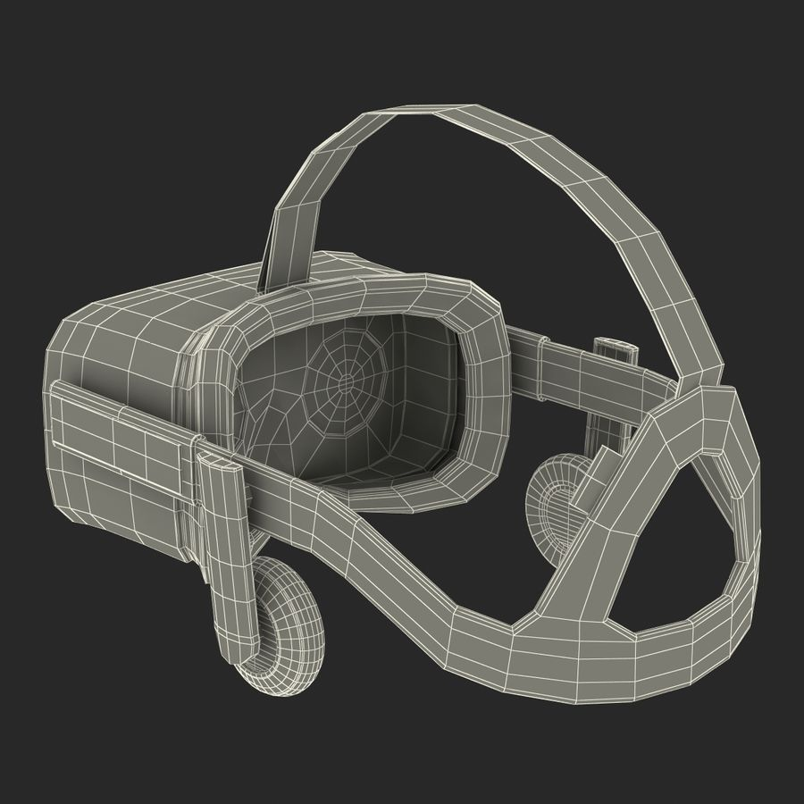 Oculus Rift royalty-free 3d model - Preview no. 27