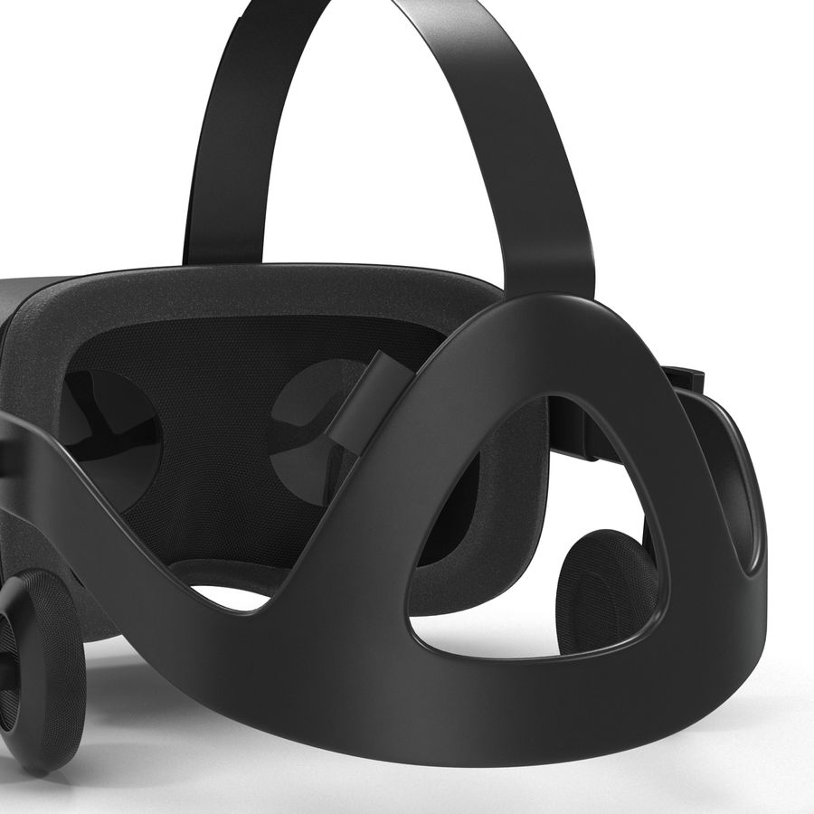 Oculus Rift royalty-free 3d model - Preview no. 14