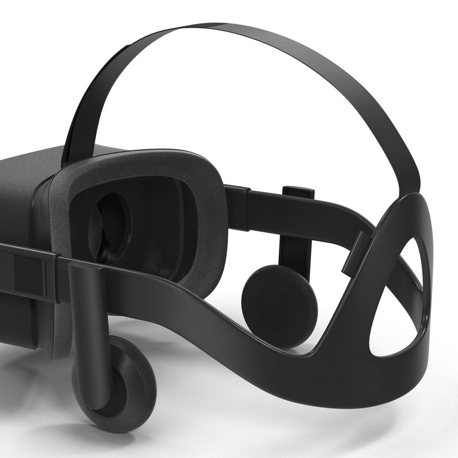 Oculus Rift royalty-free 3d model - Preview no. 10