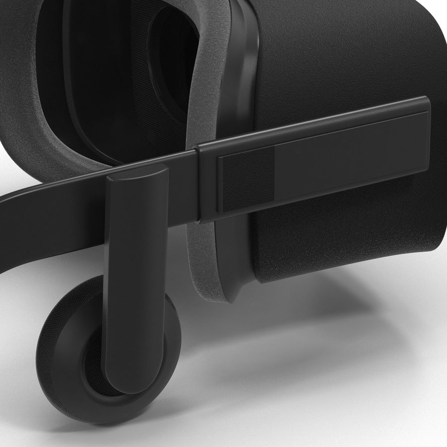 Oculus Rift royalty-free 3d model - Preview no. 12