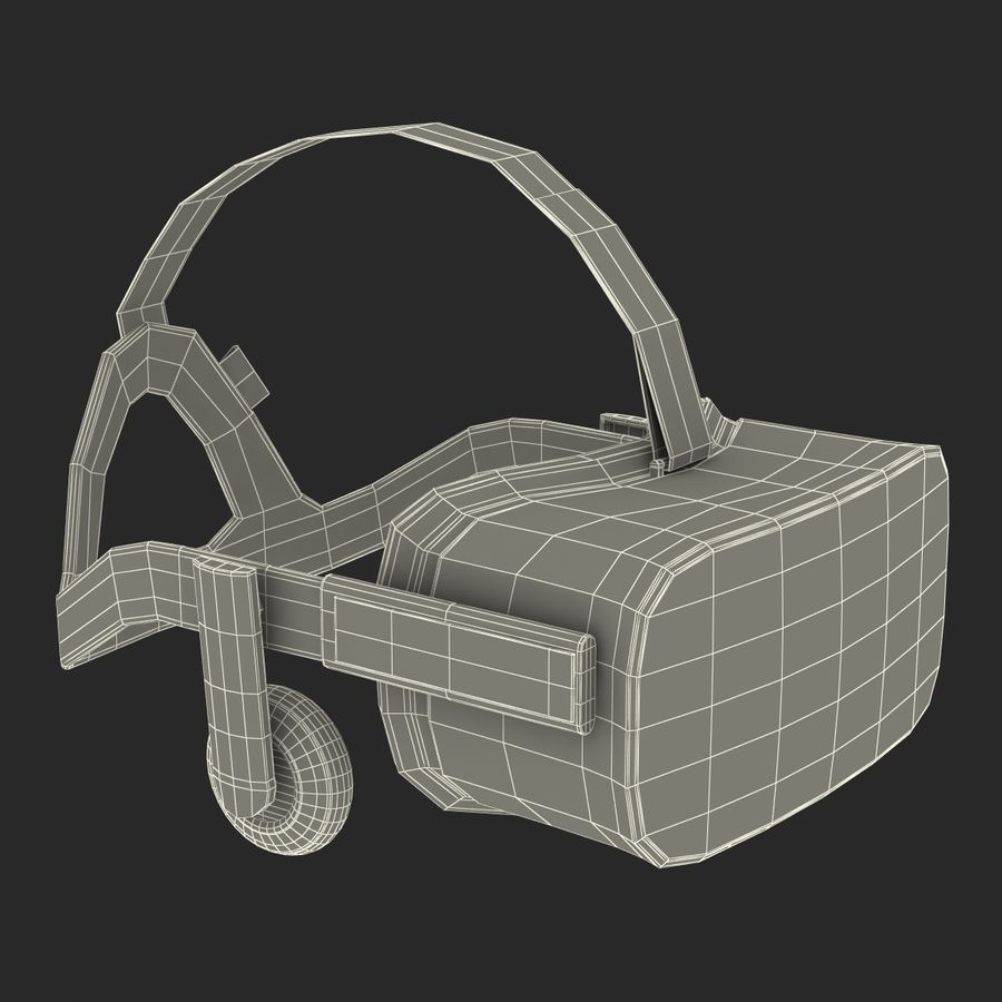 Oculus Rift royalty-free 3d model - Preview no. 24