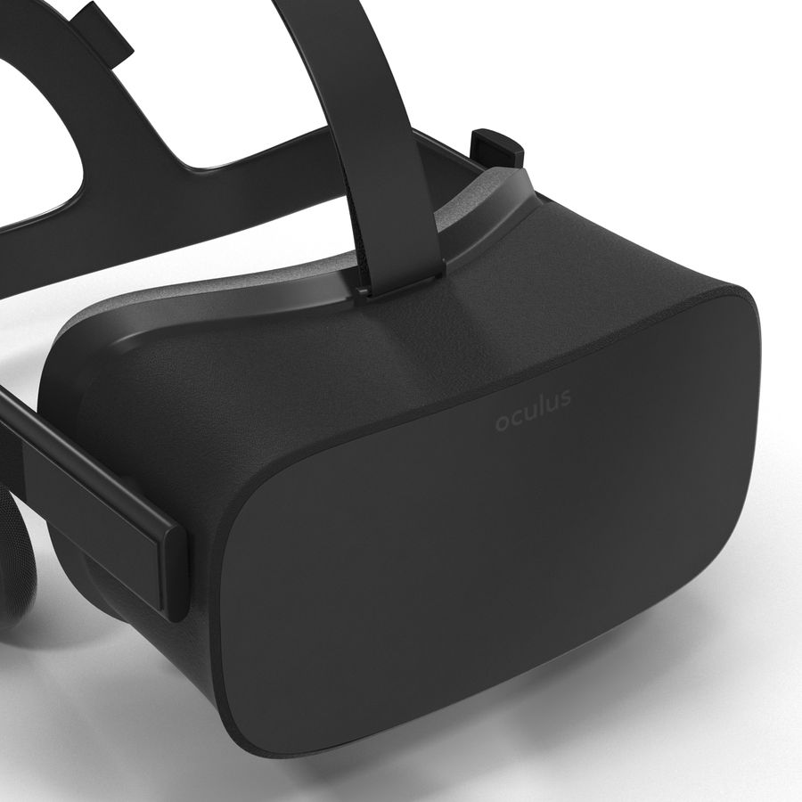 Oculus Rift royalty-free 3d model - Preview no. 11