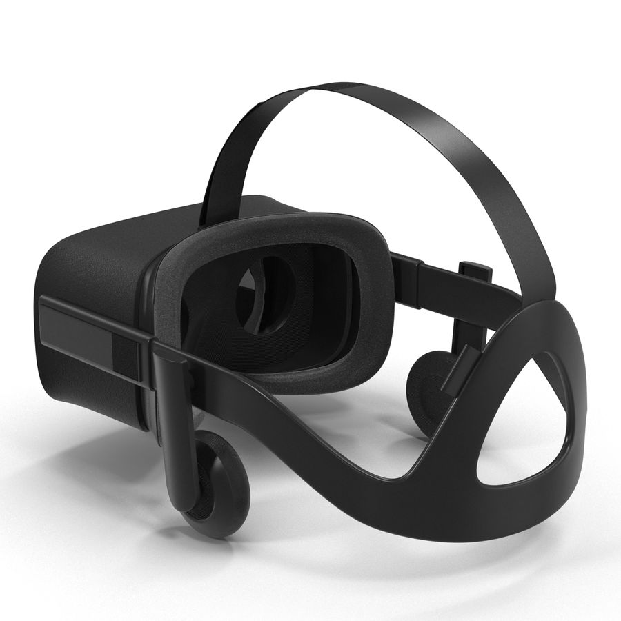 Oculus Rift royalty-free 3d model - Preview no. 7