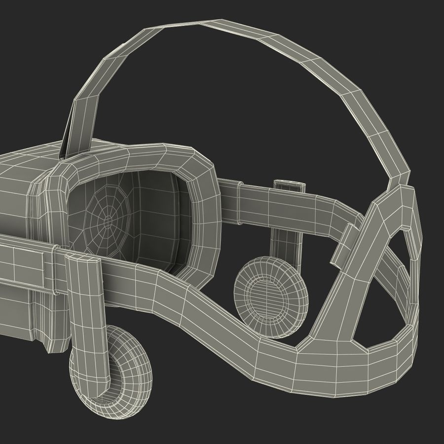 Oculus Rift royalty-free 3d model - Preview no. 30