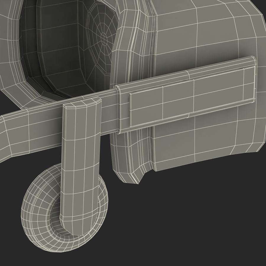 Oculus Rift royalty-free 3d model - Preview no. 32