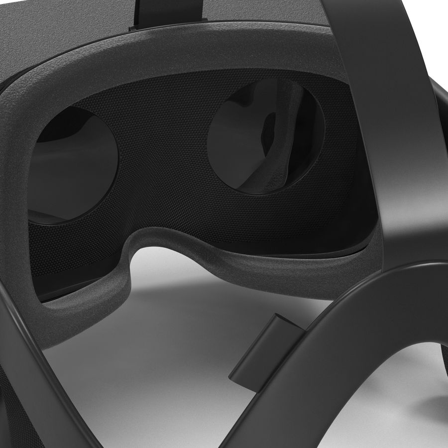 Oculus Rift royalty-free 3d model - Preview no. 13