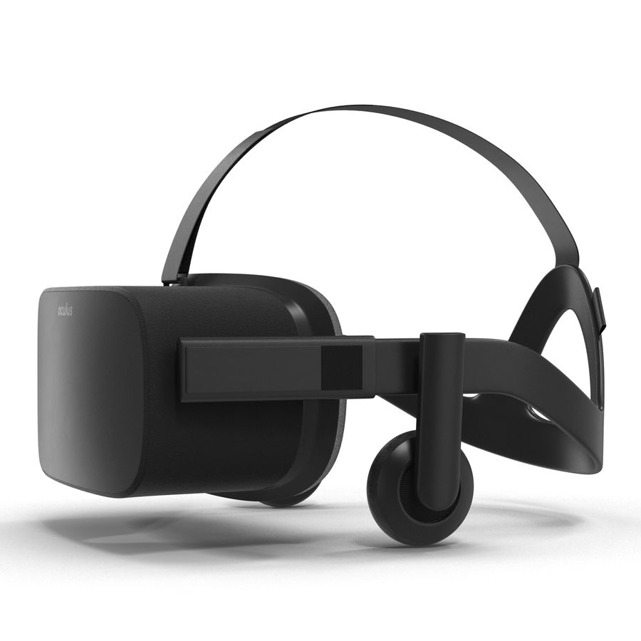 Oculus Rift royalty-free 3d model - Preview no. 3