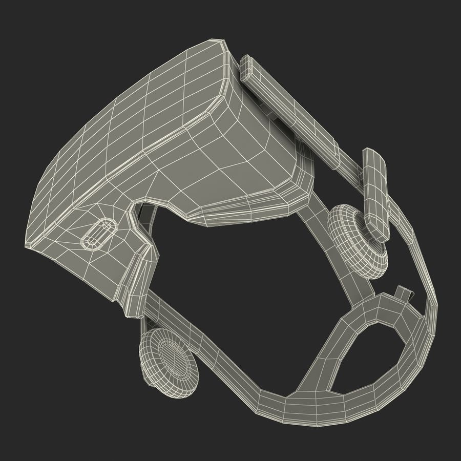 Oculus Rift royalty-free 3d model - Preview no. 35