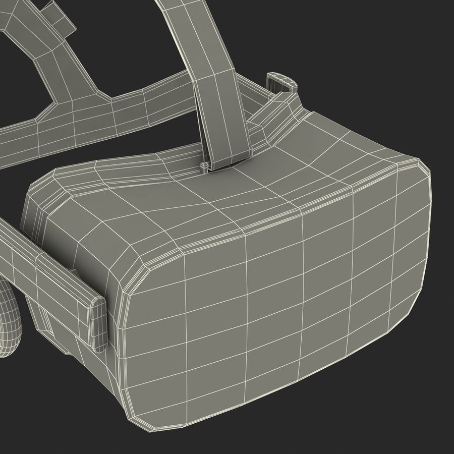 Oculus Rift royalty-free 3d model - Preview no. 31