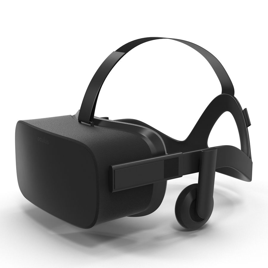 Oculus Rift royalty-free 3d model - Preview no. 2