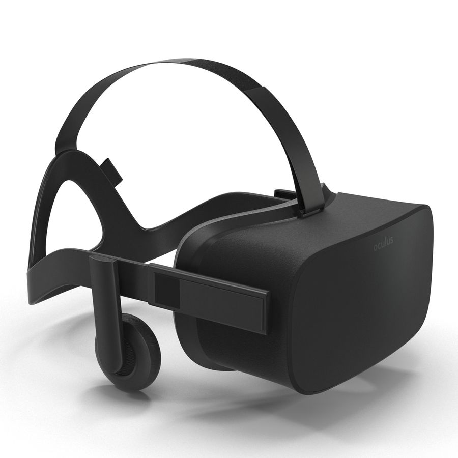 Oculus Rift royalty-free 3d model - Preview no. 4