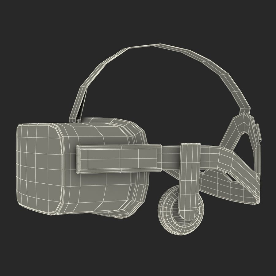 Oculus Rift royalty-free 3d model - Preview no. 23
