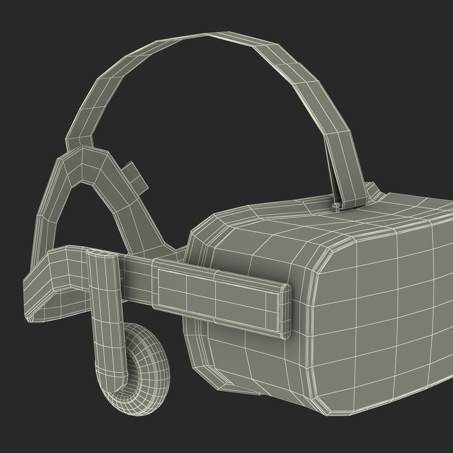 Oculus Rift royalty-free 3d model - Preview no. 28